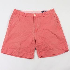 Vineyard Vines Mens 34 Striped Breaker Shorts Pink